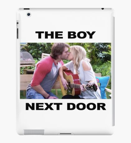 The boy next door - Steph and Jimmy Gibbler fuller house iPad Case/Skin