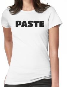 Paste - Copy Parent/Child Ctrl+V & Ctrl+C - Kids Womens Fitted T-Shirt