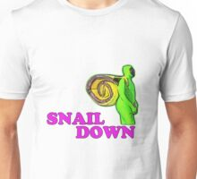 SNAIL DOWN Unisex T-Shirt