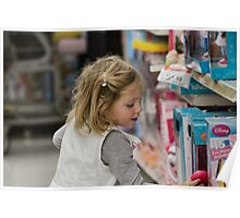Shopping with Grandma Poster