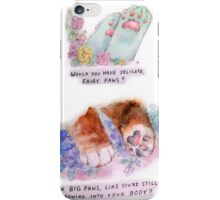 SOFT PAW iPhone Case/Skin