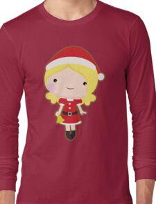 Christmas girl Long Sleeve T-Shirt