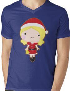 Christmas girl Mens V-Neck T-Shirt