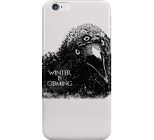 Three-eyed Raven ( GoT ) iPhone Case/Skin