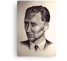 Hiddleston Canvas Print