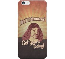 Rene Descartes iPhone Case/Skin