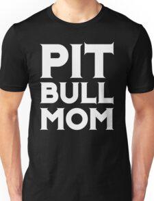 Pit Bull Mom - Dog Puppy Awareness Ribbon Color Shirt Unisex T-Shirt