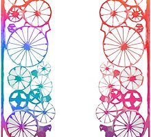 Wheels and Spokes by daysray