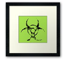 Misc - Biohazardous Framed Print