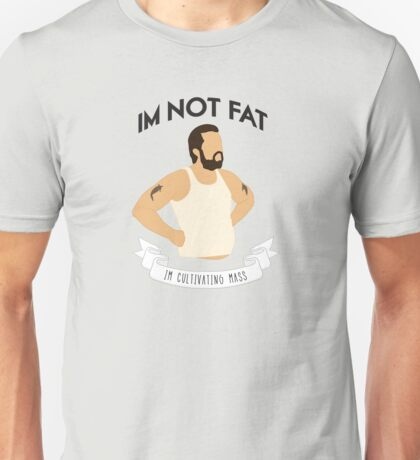 Cultivating Mass (White) Unisex T-Shirt