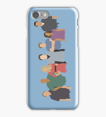 Scrubs Cast iPhone Case/Skin