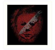 Michael Myers - in the blood Art Print
