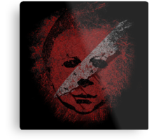 Michael Myers - in the blood Metal Print