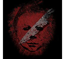 Michael Myers - in the blood Photographic Print