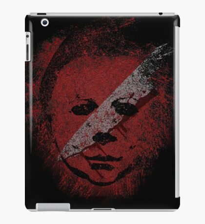 Michael Myers - in the blood iPad Case/Skin