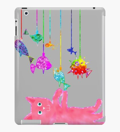 Kitty Mobile iPad Case/Skin