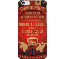 CIRQUE PRICE ROUGE iPhone Case/Skin