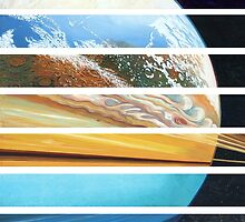 Planets (and Pluto!) by mattfield