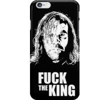 GOT - FUCK THE KING iPhone Case/Skin