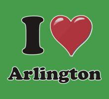 I Love Arlington Kids Clothes
