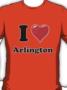 I Love Arlington T-Shirt