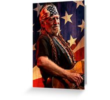 Willie Nelson Greeting Card