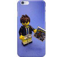 To someone you are a super hero! iPhone Case/Skin