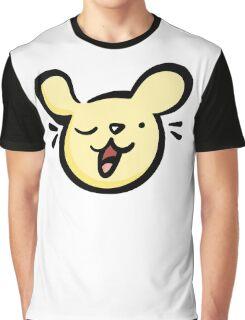 Winking Dog Graphic T-Shirt