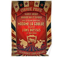CIRQUE PRICE ROUGE Poster