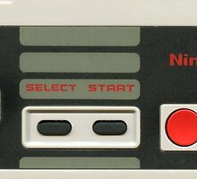 NES controller by mrluckyyellow