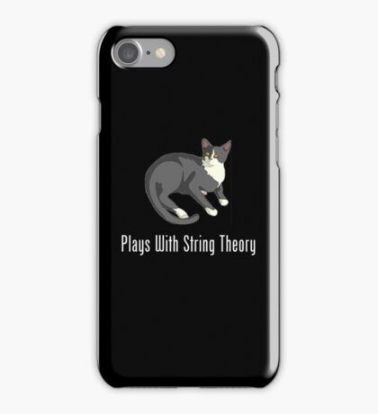 Plays With String Theory iPhone Case/Skin
