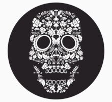 Day of the Dead skull circle by Matthew Britton
