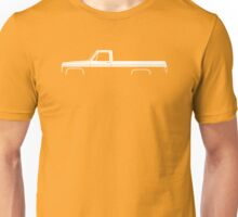 Truck Silhouette - for Chevrolet C10 long bed pickup 3rd Gen 1973-1987 enthusiasts Unisex T-Shirt