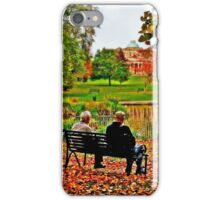 Autumn of Their Years iPhone Case/Skin