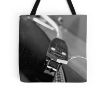 Needle on the record Tote Bag