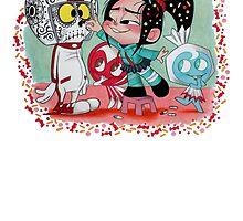Feliz Dia de los Muertos! by Mélodie Courchesne