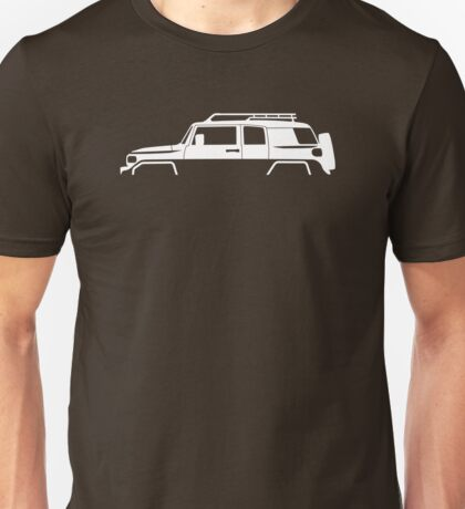 4x4 vehicle Silhouette - for Toyota FJ Cruiser enthusiasts Unisex T-Shirt