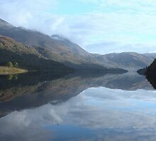 Reflections of Loch Leven by Charles  Staig