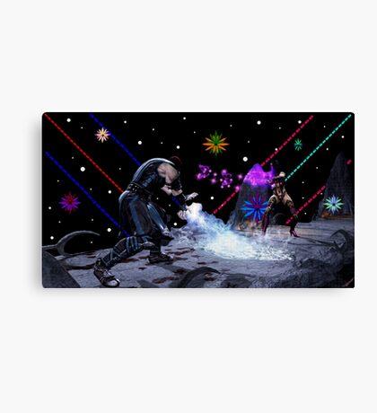 Mortal Kombat (Artist Tribute) Canvas Print