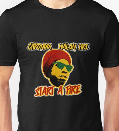chronixx walshy fire - start a fire Unisex T-Shirt