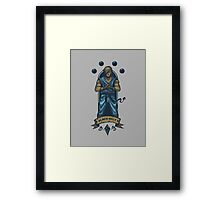 Black Belt Framed Print