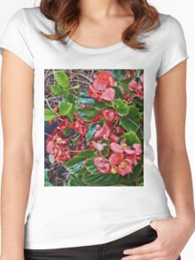 Alabama Begonia In October Women's Fitted Scoop T-Shirt