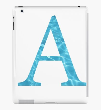 Alpha-Water iPad Case/Skin
