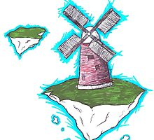 Floating Windmill Island by Riceroni31