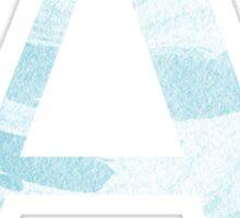 Alpha-Blue Marble Sticker