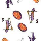 Halloween Ditzy by Amy-Elyse Neer