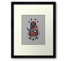 Red Mage Class Framed Print