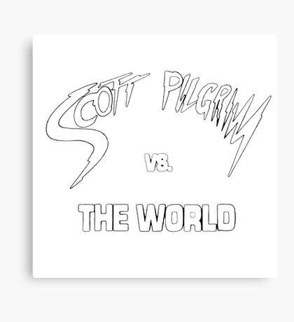 Scott Pilgrim VS The World Canvas Print