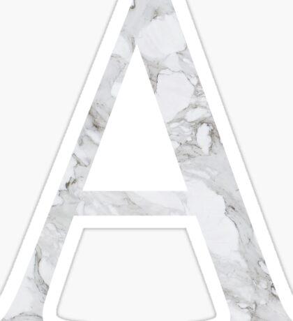Alpha-Marble Sticker