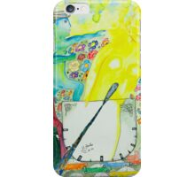 The day, an allegory iPhone Case/Skin